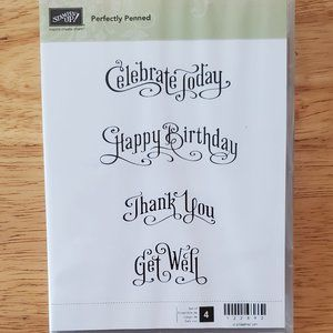 Stampin' Up! - Perfectly Penned Stamp Set